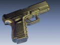 thumbs Glock 4 3D Scanning & Inspection of Weapons