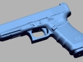 thumbs Glock 41 gen 4 45auto 3D Scanning & Inspection of Weapons