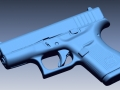 thumbs Glock 42 scan 1 3D Scanning & Inspection of Weapons