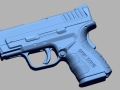 thumbs Springfield XD 40 Sub Compact 40cal SW 3D Scanning & Inspection of Weapons