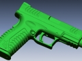 thumbs Springfield XD9 scan 1 3D Scanning & Inspection of Weapons